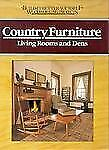 COUNTRY FURNITURE LIVING ROOMS Dens Woodworking Projects Plans Illustrated 1989
