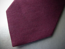New! BROOKS BROTHERS Burgundy Wool Silk Neck Tie ~ XL ~  Extra Long ~ NWT $79.50