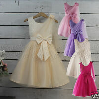 Little Girls Flower Girl Dress Party Dress Christening Age 1-2 Y Age 2-3 Y Cute
