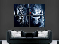 ALIENS VS PREDATORS FILM TV  ART LARGE  BIG HUGE GIANT POSTER PRINT