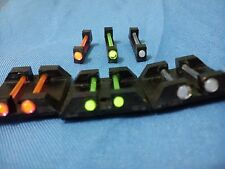 1 set Optic Fiber Glow Sight fit GLOCK rear front sight made for ksc