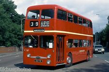 Lancashire United 97 Heaton Park Manchester 1994 Bus Photo
