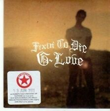 (BY175) G-Love, Fixin' To Die - 2010 DJ CD