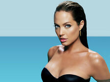 """Famous Hollywood Actor Angelina Jolie Movie Star Wall Poster 32''x24"""" Decor 06"""