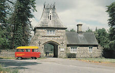 (20477) Postcard - Usk - Bettws Newydd Royal Mail postbus - WMPB 14