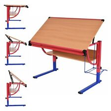 Adjustable Drafting Table Workstation Drawing Desk Art & Craft Hobby Studio New
