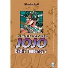 LE BIZZARRE AVVENTURE DI JOJO - BATTLE TENDENCY 2 DI 4 - STAR COMICS NUOVO