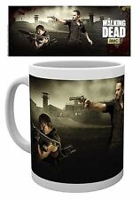 Official The Walking Dead AMC Mug Rick And Daryl Crossbow Shoot TV Zombie Gift