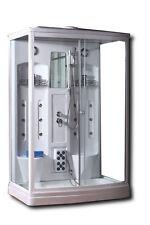 BOX CABINA DOCCIA IDROMASSAGGIO 142 X 90 PER 2 PERSONE CON CROMOTERAPIA RADIO...