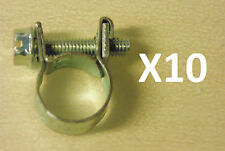 "Ideal EFI Hose Clamp 1/4"" 11-13mm BULK Pack of 10 suit Nissan Toyota Ford Honda"