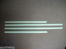 For: VOLKSWAGEN PASSAT UNPAINTED Body Side Mouldings Moldings Trim 3M  2012-2014