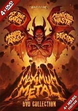 Maximum Metal by Deicide/Morbid Angel/Municipal Waste/At the Gates (DVD,...