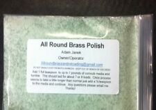 Brass Polish For Reloading Virbratory Casing Tumblers (8 Oz)