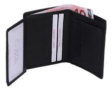 Mini bolsa combinado Jockey Club en real-cuero en modo vertical, negro
