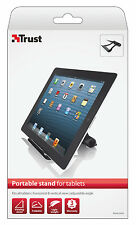 TRUST 19102 PORTABLE LIGHTWEIGHT ADJUSTABLE ANGLE IPAD & UNIVERSAL TABLET STAND