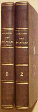 LA LUZERNE C.-G. de - EXPLICATION DES EVANGILES DES DIMANCHES  2/4 VOLUMES 1807
