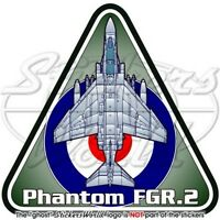 F-4 PHANTOM FGR Mk.2 F-4M RAF FGR2 British Royal AirForce UK Vinyl Sticker Decal