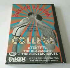 "College (DVD, 2000) BUSTER KEATON  ""NEW""  *AMAZING FOUR, COMEDY, SHORT FILMS*"