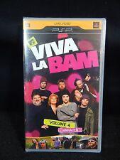MTV VIVA LA BAM VOLUME 4 UNRATED PSP UMD VIDEO **NEW**