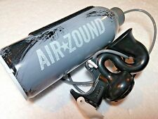 Delta AirZound Rechargeable Air Powered Bike Horn 115db Steel Can Black Gray