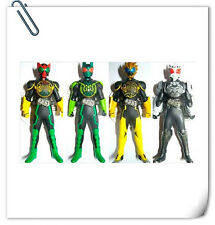 SET OF 4pcs Kamen Masked Rider OOO Mini Soft Vinyl BANDAI
