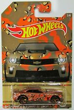 Hot Wheels 2015 Camouflage camo series walmart exclusive 12 camaro zl1  #3/6