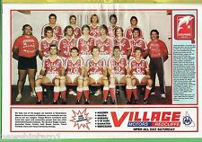 #T102. BRISBANE REDCLIFFE DOLPHINS  PINUP IN 1983 RUGBY LEAGUE WEEK