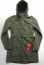 NEW NORTH FACE $230 WOMENS APEX BIONIC TRENCH COAT M MED GREEN WINDPROOF JACKET
