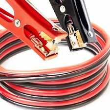 Heavy Duty Jumper Booster Cables Commercial Grade 2 Gauge 20ft 600 AMP Long