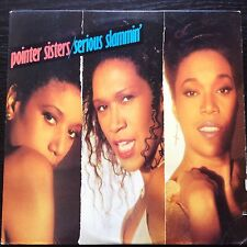 "POINTER SISTERS: Serious Slammin'. 1988 Vinyl 12"" LP. Excellent."