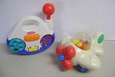 Playskool Lot 2 Airplane Popper/RadioCombo