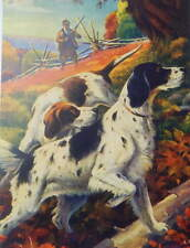 Hunting Dogs Hunter by A Cucci vintage art
