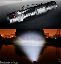 Taschenlampe Zoombare Superhelle  CREE XML Q5 LED 14500 Torch Lampe Licht 3000LM