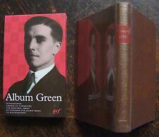 ALBUM PLEIADE GREEN, 1998, 1 volume, 287 pages, rhodoid, etui cartonné imprimé.