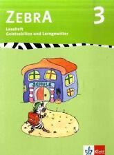 Schulbücher, Zebra 3, Lesehefte 1-7, ISBN 978-3-12-270730-9