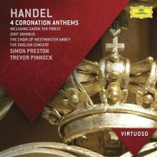 Virtuoso-Handel: Coronation Anthems - Simon/Westminster Abbey C (2013, CD NIEUW)