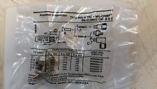 LOT X 10     M39012/16-0013   Conn BNC PL 0Hz to 4GHz 50Ohm Crimp ST Cable Mount