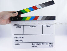 Clapperboard TV Film Movie Clapper Board Handmade Colorful