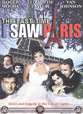 The Last Time I Saw Paris, Very Good DVD, Johnson, Van, Taylor, Elizabeth, Moore
