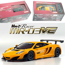 Kyosho MINI-Z MR-03VE BCS McLaren 12C GT3 2013 Orange Body / Chassis Set 32765OR