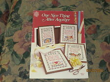 One Nice Thing After Another Cross Stitch Pattern Booklet Gloria & Pat 1980