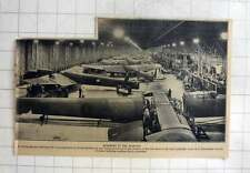 1940 Vast Programme Of Aircraft Production In England, Bombers Being Assembled