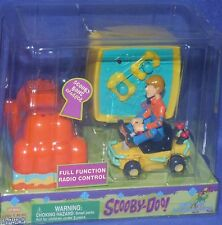"Scooby Doo Full Function Radio Remote Control 3"" Shaggy Bone Charger car New"