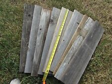 "Reclaimed Old Fence Wood Boards - 1 Fence Board - 24"" Weathered Barn Wood Planks"