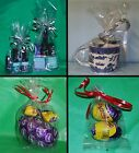 Clear Cello Gusset Bag Party Bags Favour Crafts Sweets Display Gifts Polybags