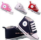 New Arrived Baby Boy Girl Crib Shoes PreWalker Sneakers Size 3 6 9 12 18 Months