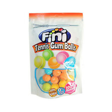 FINI Tennis Bubble Gum Balls Gluten Free Candy Party Sweets 180g 6.4oz