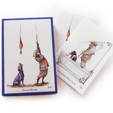 Bryn Parry Game Shooting 10 note cards - 5 of each type & envelopes - invitation