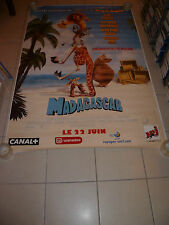AFFICHE CINEMA ROULEE - MADAGASCAR - PREVENTIVE - 120x160