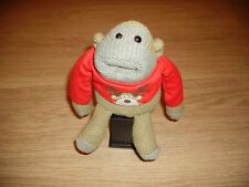 Fab PG Tips Jonny Vegas Monkey TV Adverts Knitted Wearing the RED Xmas t-shirt